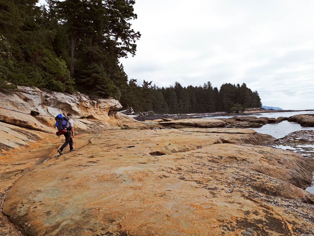 Hiking the Juan de Fuca Trail, Vancouver Island, Canada