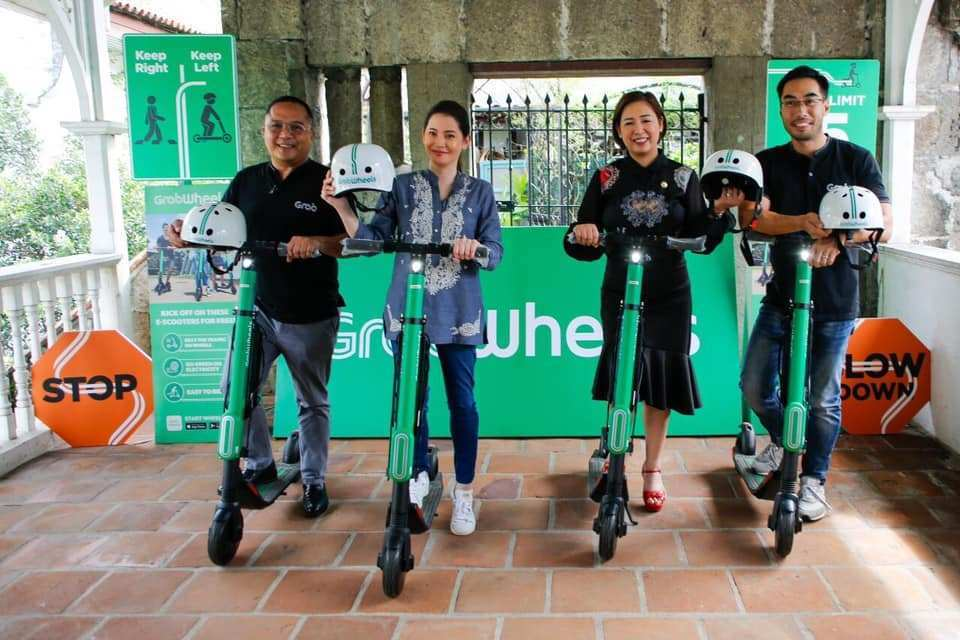 Department of Tourism, GRAB to launch GrabWheels scooter service in Intramuros