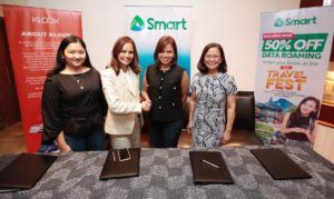 Smart Partners with KLOOK for KLOOK Travel Fest to Allow People to Enjoy Awesome Travel Deals, Data Roaming Perks