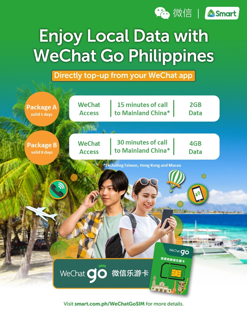 Smart and WeChat launch Smart WeChat Go Philippines for worry-free travel