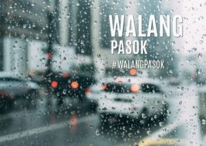 #WalangPasok: Class Suspensions For December 6, 2019, Friday