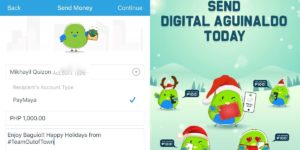 Send a Digital Aguinaldo with PayMaya this Christmas