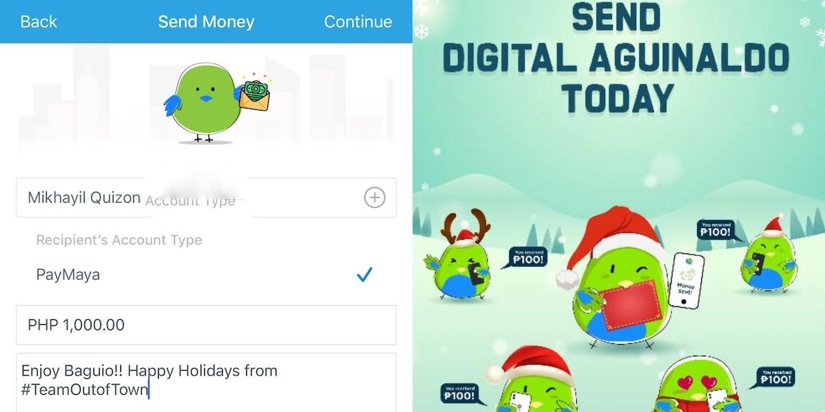 Send a Digital Aguinaldo with PayMaya this Christmas