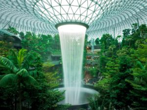 What to See and Do Inside the New Jewel Changi Airport in Singapore