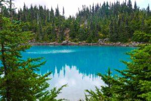 Garibaldi Lake Hike near Whistler, BC Canada