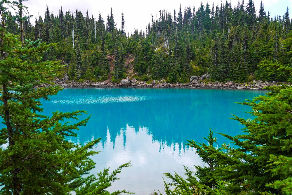 Garibaldi Lake Hike near Whistler, BC Canada