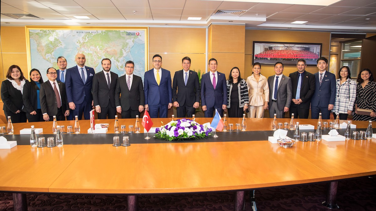 DOT, Turkish Airlines Form Partnership To Increase Philippine Tourism From Europe And Mediterranean Source Markets