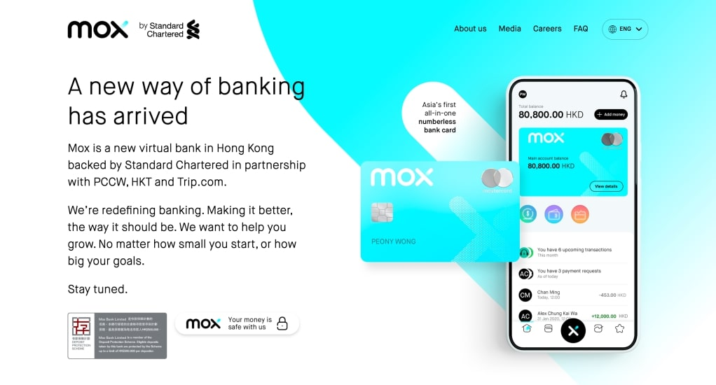Trip.com Group joins Standard Chartered, PCCW and HKT to announce new virtual banking service