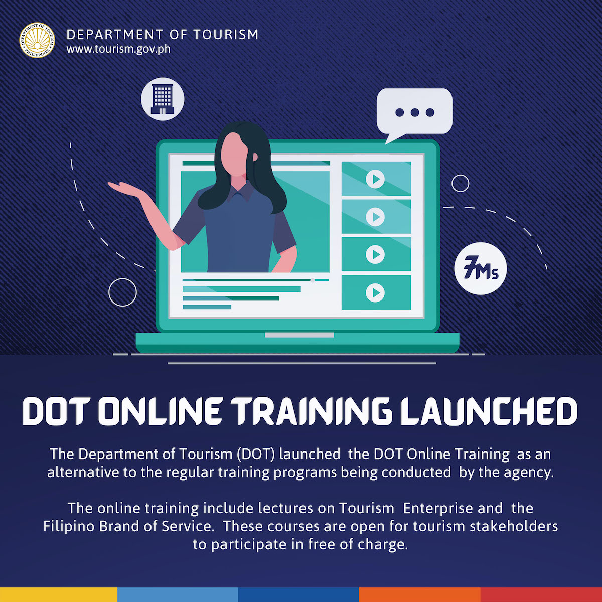 "DOT Offers Online ""Enhanced Opportunity"" Training For Tourism Stakeholders"