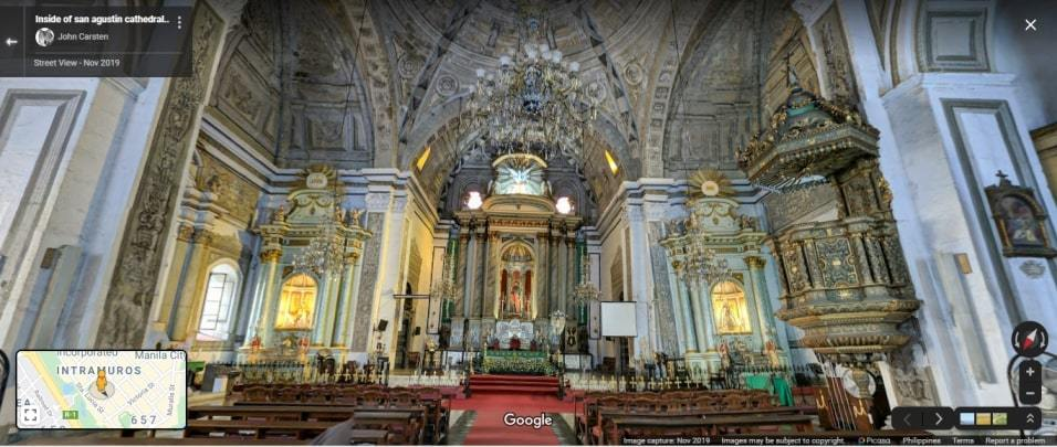 Digital Visita Iglesia: A virtual tour of local churches this Holy Week on Street View