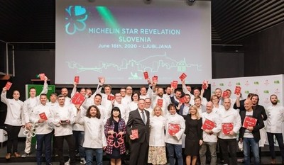 Slovenian Tourist Board: First Six Michelin Star Restaurants in Slovenia