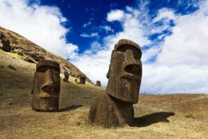 The Mysterious Statues of Easter Island in Chile