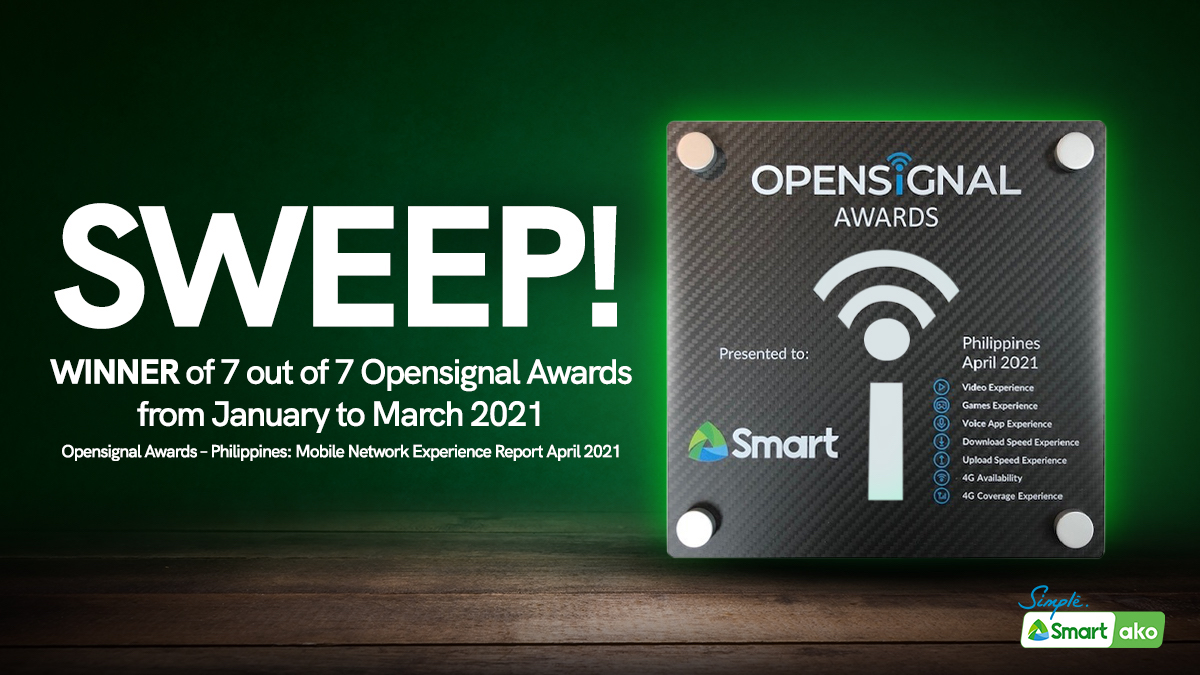 Best in PH: Smart clinches rare sweep in Q1 Opensignal Awards