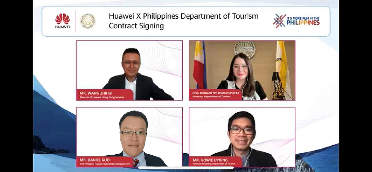 Huawei partners with DOT to showcase the beauty of Philippines worldwide