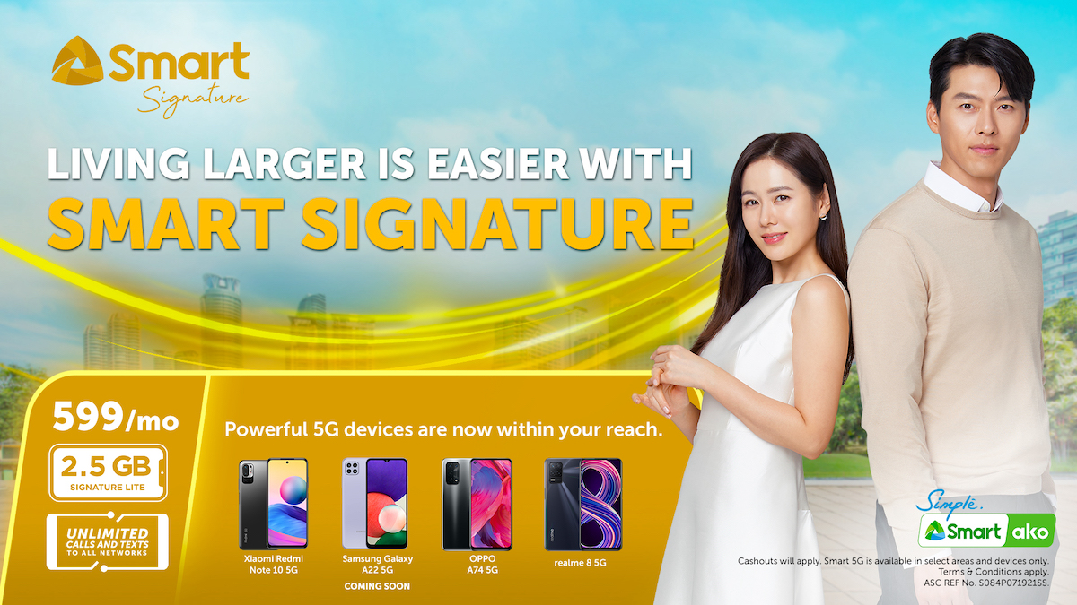 Smart launches most affordable Signature Plan P599